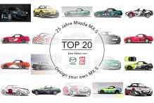 Gesucht: Das beste Mazda MX-5 Design!
