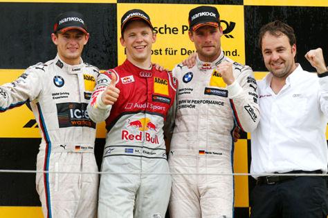 Mattias Ekström sicherte sich seinen ersten DTM-Sieg seit 2011