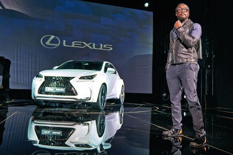 Lexus NX F Sport von Will.i.am