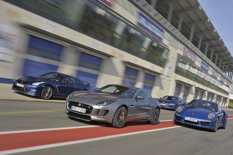 Audi/Jaguar/Nissan/Porsche: Test