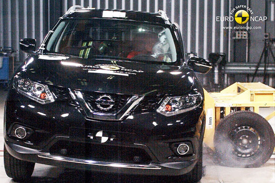 Nissan X-Trail Euro NCAP-Crashtest Oktober 2014
