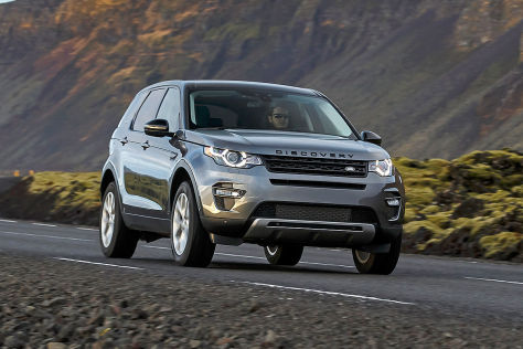 Land Rover Discovery Sport Paris 2014: Sitzprobe