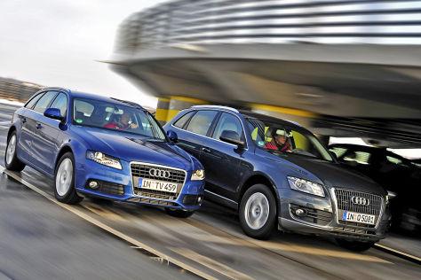 Audi A4 vs Audi Q5