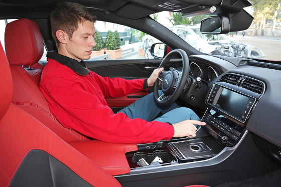 jaguar xe 2015 sitzprobe und erste preise autosalon. Black Bedroom Furniture Sets. Home Design Ideas