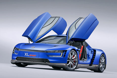 VW XL Sport: Autosalon Paris 2014