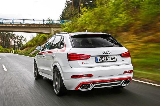 Audi Abt RS Q3 weiß Frontansicht