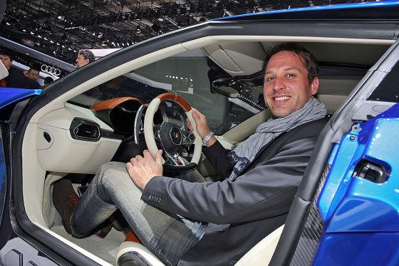 So sitzt es sich in Lamborghini Asterion