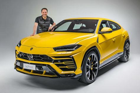 Lamborghini Urus 2018 Preis Test Daten Motor Autobild De