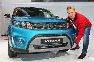 Suzuki Vitara Sitzprobe: Paris 2014