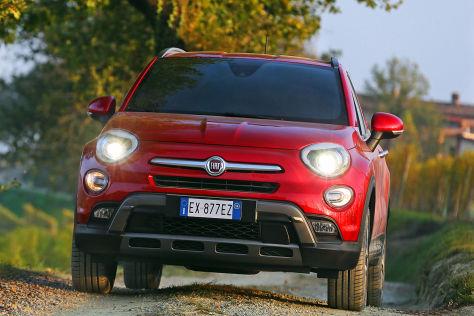 Fiat 500X: Sitzprobe auf dem Autosalon Paris 2014