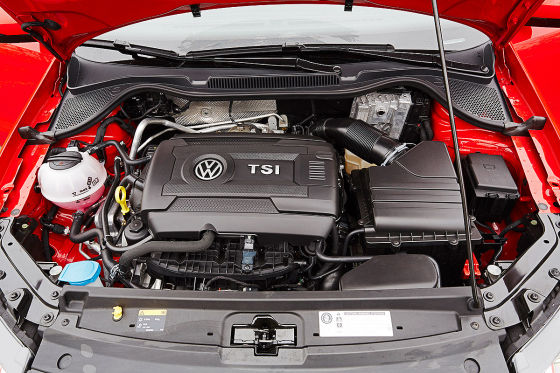 VW Polo GTI Facelift Motor