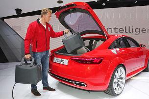 Her mit diesem Audi TT!