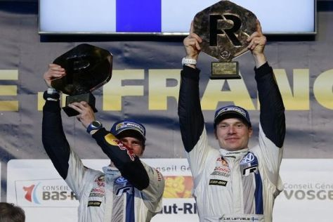 Für Jari-Matti Latvala war es schon der vierte Sieg in dieser Saison