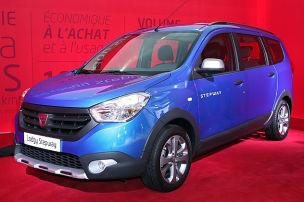 Dacia Lodgy Stepway (2014): Sitzprobe