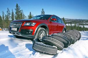 Allrad-Winterreifen im Test