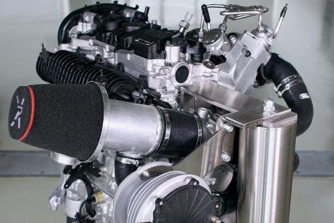 Volvo Zweiliter-Vierzylinder mit 450 PS
