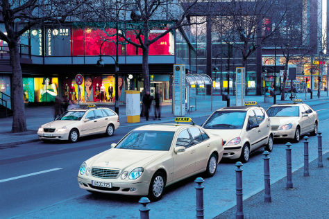 Nissan Leaf als Taxi