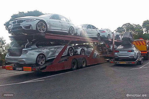 Gecrashte BMW M3