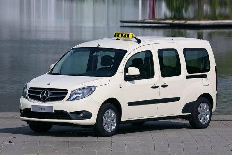Mercedes Citan mit Taxi-Paket