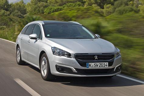 Peugeot 508 / 508 SW / 508 RXH: Fahrbericht und Preise