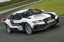 Autonomer Audi in Hockenheim