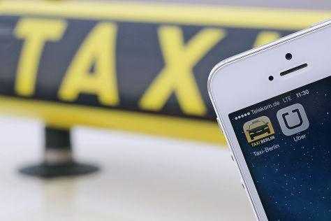 Uber Handy-App