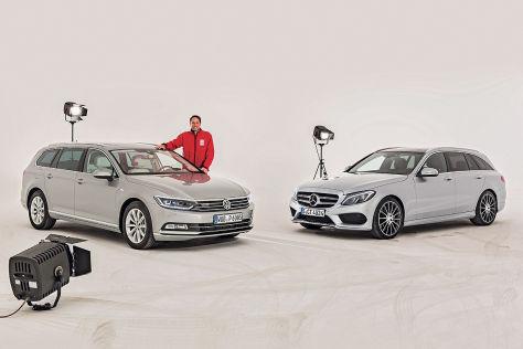 Mercedes C-Klasse VW Passat