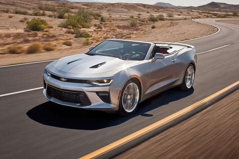 Chevrolet Camaro Convertible Iaa Motoren Preis Und