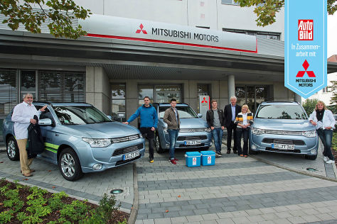 Mitsubishi Outlander Partneraktion