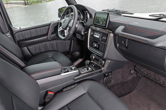 Mercedes G-Klasse Edition 35 Innenraum