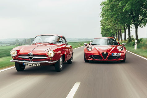 Alfa 4C Alfa Giulietta SS