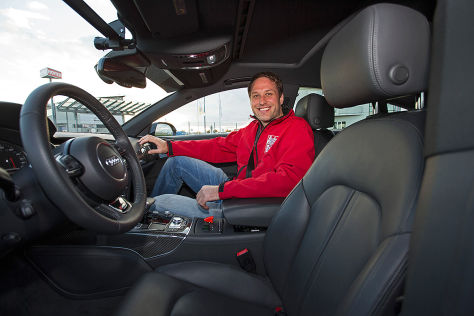 Audi RS7 piloted driving concept: Mitfahrt