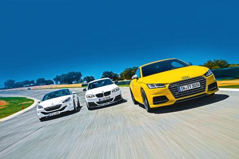 Audi/BMW/Peugeot: Vergleich