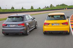 Frisierte Audi S1 im Duell