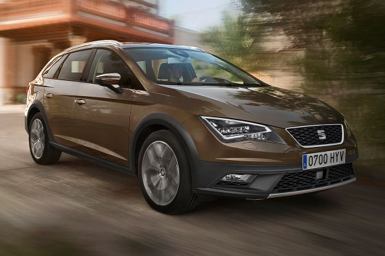 seat leon x perience 2014 so f hrt der gel nde leon. Black Bedroom Furniture Sets. Home Design Ideas