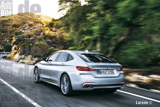 BMW 2er GT Illustration