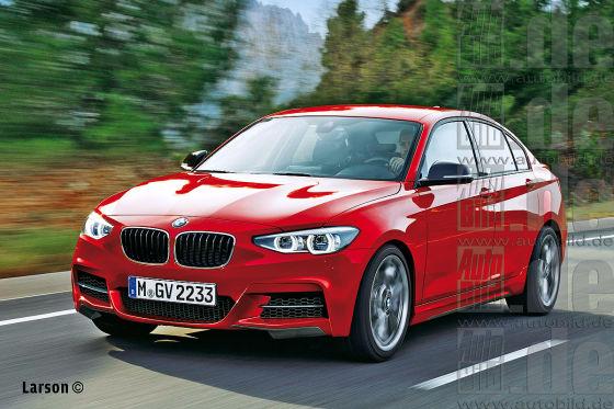 BMW 2er Limousine Illustration