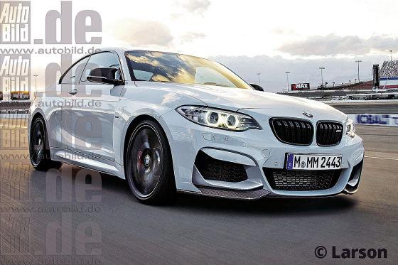 BMW M2 Illustration