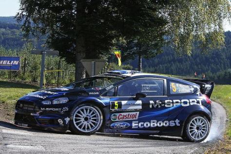 Mikko Hirvonen will seinen vierten Gesamtrang festigen