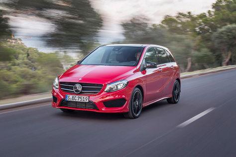 Mercedes B-Klasse Facelift: Fahrbericht