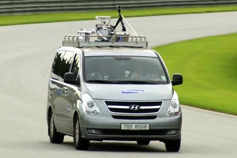 Samasung testet 5G-Internet-Übertragung im Auto