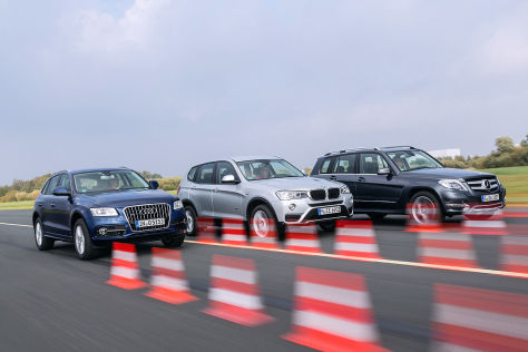 Audi Q5 BMW X3 Mercedes GLK