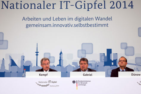 Nationaler IT-Gipfel in Hamburg
