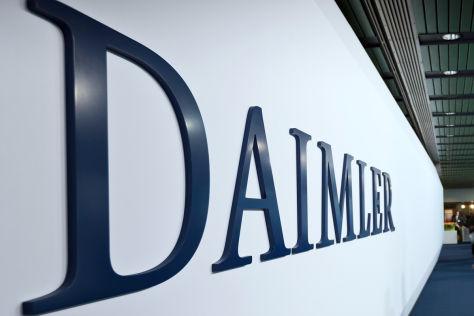 Daimler-Schriftzug
