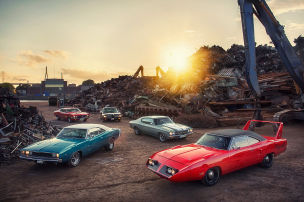 Showdown der Muscle Cars