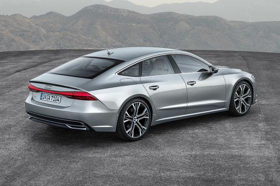 Neuer Audi A7 zum ersten Mal gesichtet
