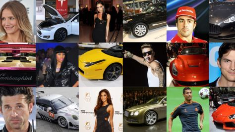 Top 10: Die Autos der Stars