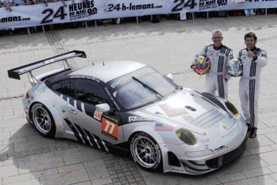 Patrick Dempsey und sein Porsche GT 3RS