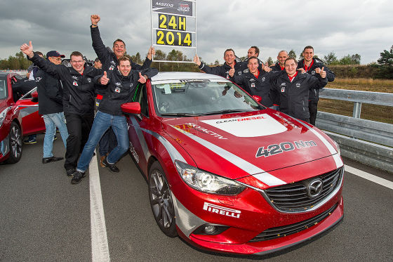 Mazda Partneraktion: 24 Stunden Highspeed