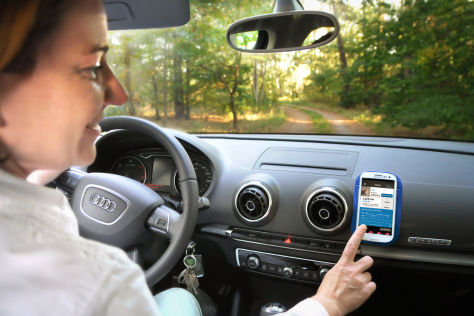 Axa Fahrsicherheitstraining via Drive-Smart App
